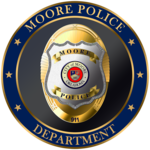 Moore Police Department Badge